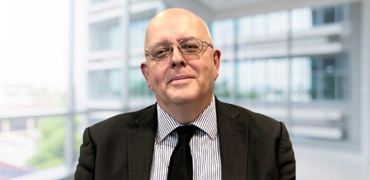 Profile shot of staff member